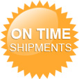 On Time Shipments